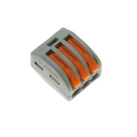 Wago svorka krabicová šedá 400V/32A WAGO 222-413