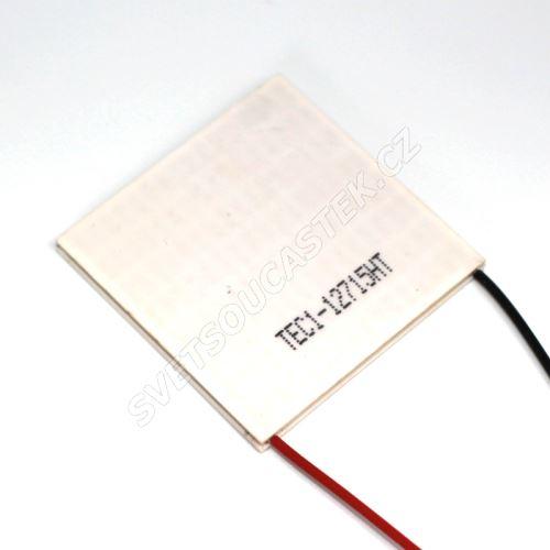 Peltierův článek 150W 50x50mm Hebei TEC1-12715HT