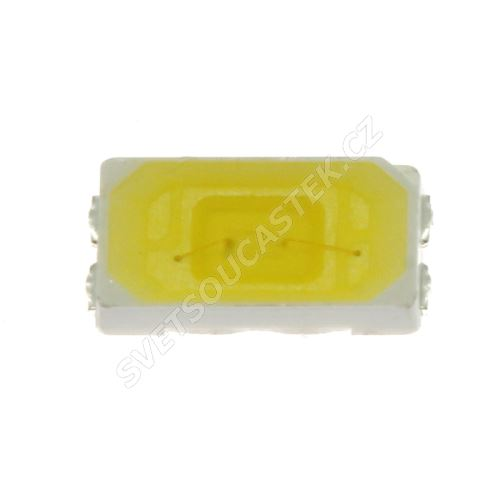 LED SMD PLCC-5630 stud. bílá 43lm/120° Hebei PLCC5630-W6