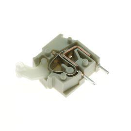 Svorkovnice s tlačítkem do DPS světle šedá 250V/16A WAGO 255-743