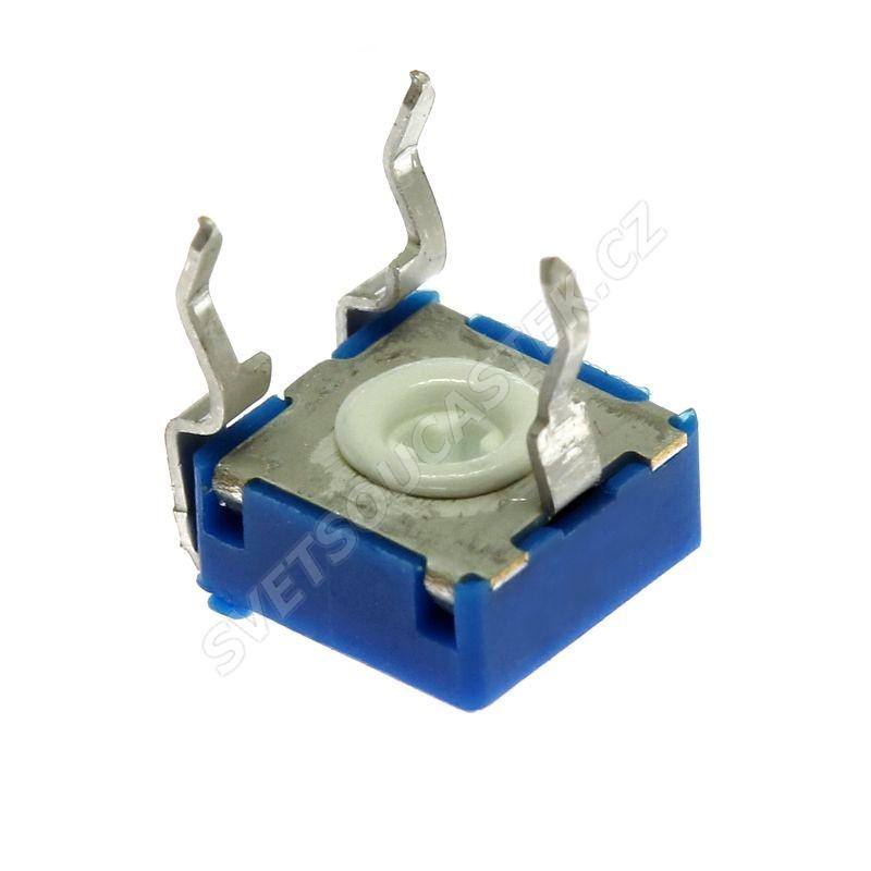 Uhlíkový trimr 6mm lineární 5k Ohm ležatý 20% ACP CA6XV5-5KA2020