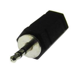 Redukce Jack vidlice 2.5mm STEREO na Jack 3.5mm STEREO zásuvka