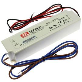 Napájací zdroj pre LED pásky 60W 12V / 5A IP67 Mean Well LPV-60-12