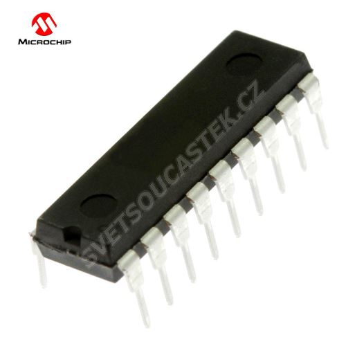 Mikroprocesor Microchip PIC16F88-I/P DIP18