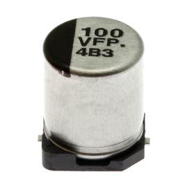 Elektrolytický kondenzátor SMD 100uF/35V 6.3x7.7 SMD 105°C Panasonic EEEFPV101XAP