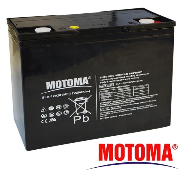 MOTOMA Baterie 12V-20T 12V/20Ah
