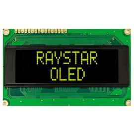 Alfanumerický OLED displej Raystar REC002004AYPP5N00000