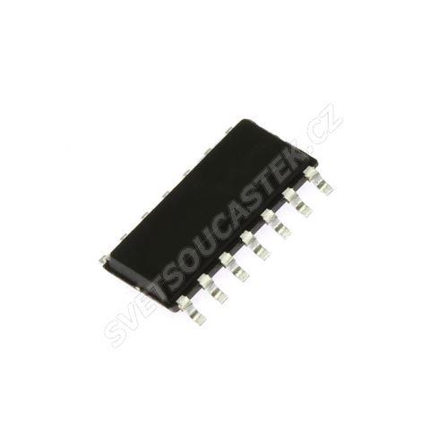 4x 2-vstupový NAND Schmitt trigger SO14 74HC132D