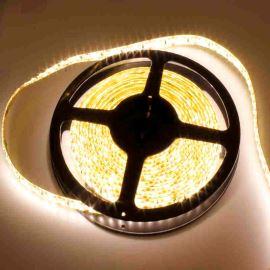 LED pásek teplá bílá délka 1 metr, SMD 3528, 120LED/m - vodotěsný IP65 STRF 3528-120-WW-IP65