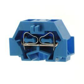 Svorkovnice na DIN lištu modrá 400V/18A WAGO 260-334