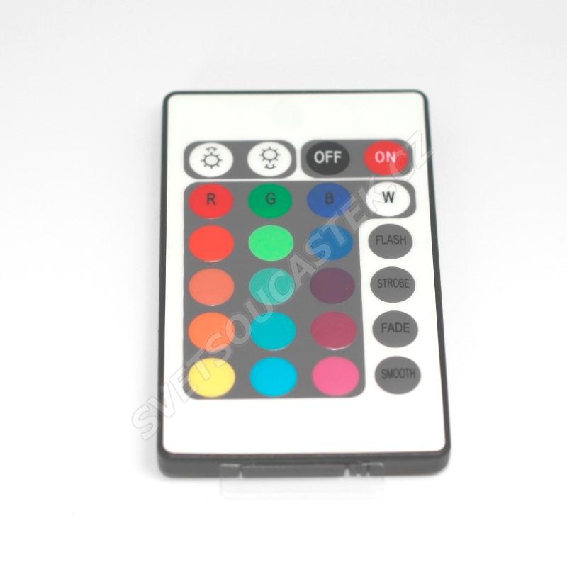Regulátor RGB LED pásků s IR dálkovým ovládáním Hebei RGB Controller-101
