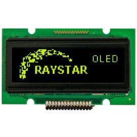 Grafický OLED displej Raystar REG007616AYPP5N00000