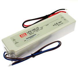 Napájecí zdroj pro LED pásky 100W 12V/8.5A IP67 Mean Well LPV-100-12