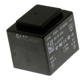 Transformátor do DPS 3VA/230V 2x9V Hahn BV EI 305 2056