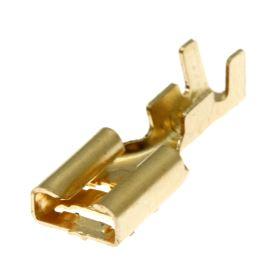 Faston zásuvka na kabel krimpovací 6.3x0.8mm