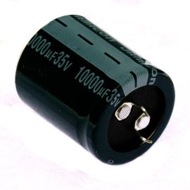 Elektrolytický kondenzátor Snap-in E 10000uF/35V 30x35 RM10 105°C Jamicon HTW103M1VP35M