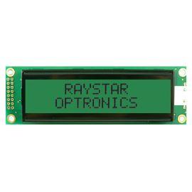 Alfanumerický LCD displej Raystar RC2002A-GHG-ESV