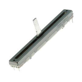 Posuvný potenciometr 100mW logaritmický STEREO 10k Ohm 20% ALPS RS60112A600N