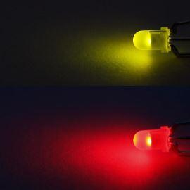 LED 3mm červeno-zelená 330/330mcd/30° difúzní spol. katoda Optosupply OSRGHC3132A