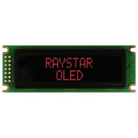 Alfanumerický OLED displej Raystar REC001602DRPP5N00000