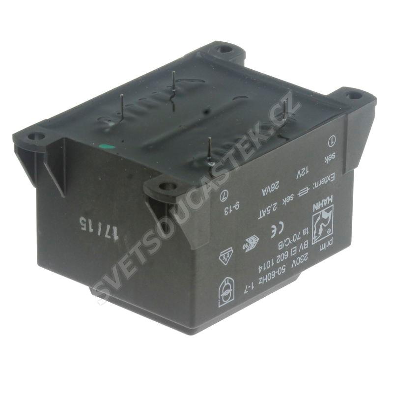 Transformátor do DPS 28VA/230V 1x12V Hahn BV EI 602 1014