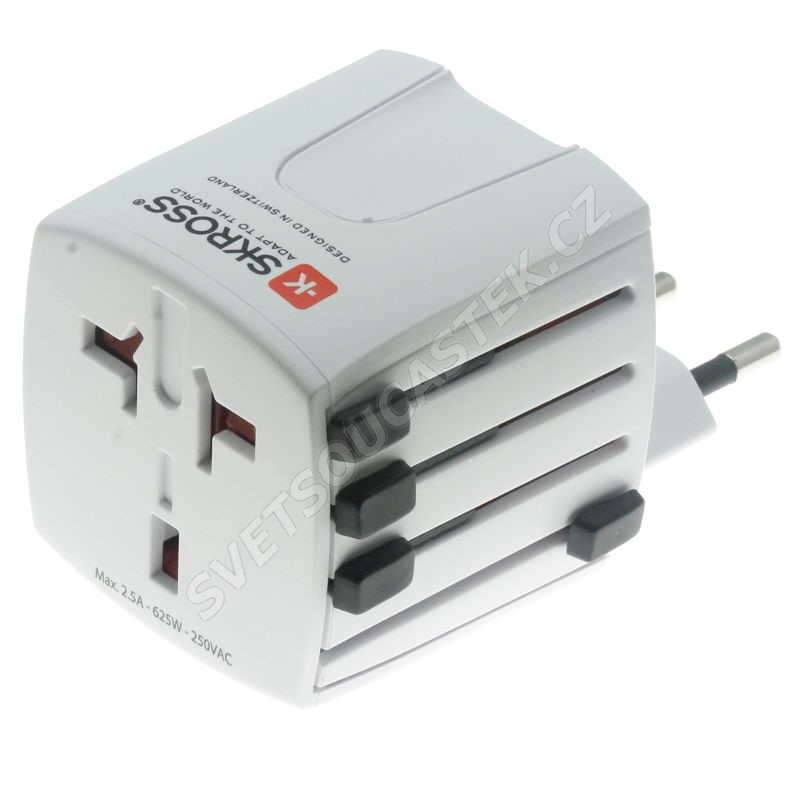 Cestovní adaptér univerzální 2-pólový MUV Micro SKROSS SKR1302180