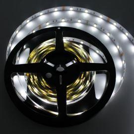 LED pásek studená bílá délka 1 metr, SMD 5050, 30LED/m - nevodotěsný STRF 5050-30-CW