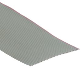 Plochý kabel AWG28 34 žil licna rozteč 1,27mm PVC šedá barva