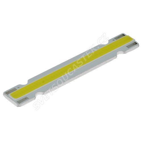 LED modul 3W studená bílá, 260lm/120° - 60x10mm Hebei LM-W6-60X10-3W