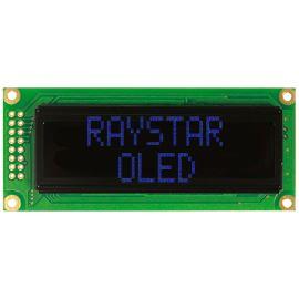 Alfanumerický OLED displej Raystar REC001602CBPP5N00000