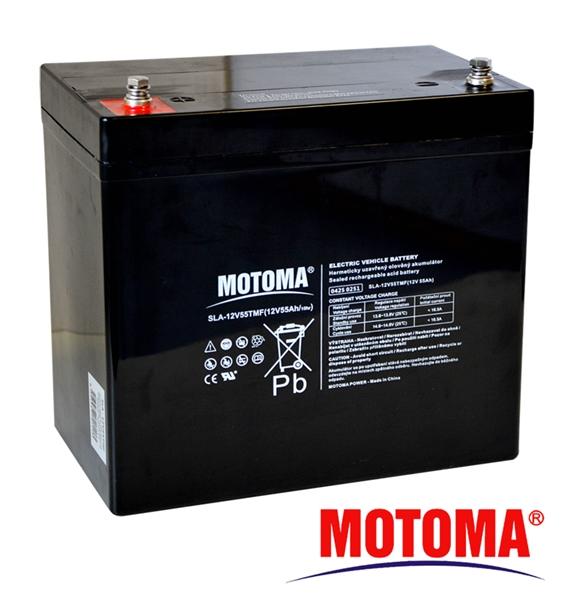 MOTOMA Baterie 12V55TMF 12V/55Ah