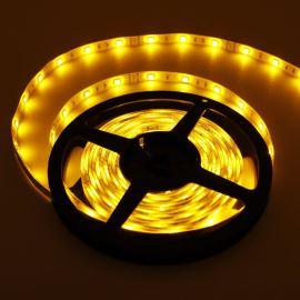 LED pásek žlutá délka 1 metr, SMD 5050, 30LED/m - vodotěsný (silikagel) - IP65 STRF 5050-30-Y-IP65