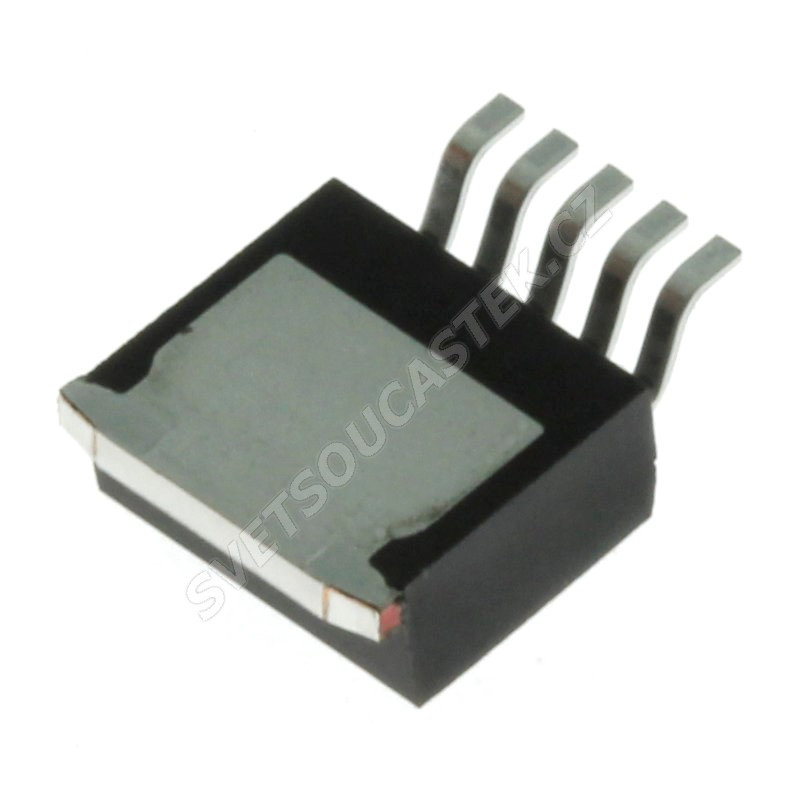 Spínaný napěťový regulátor step-down vstup 4..40V výstup 5V 1A TO263-5 Texas Instruments LM2575S-5.0