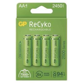 Nabíjecí baterie GP NiMH 2500 HR6 (AA), 4 ks v papírové krabičce