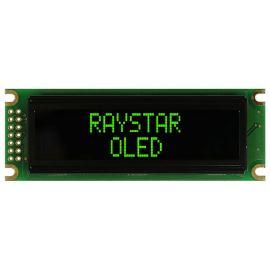 Alfanumerický OLED displej Raystar REC001602DGPP5N00000