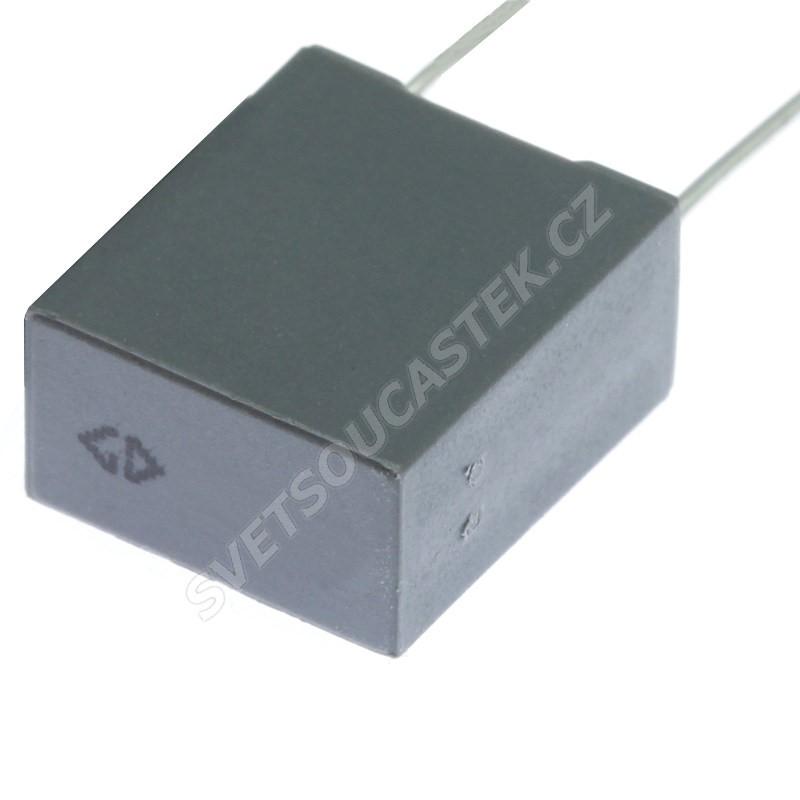 Fóliový kondenzátor 100nF/100V RM 7.5mm 10.5x8.5x3.5mm Faratronic C232A104J30A301