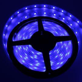 LED pásek modrá, SMD 5050, 30LED/m (balení 5m) - vodotěsný (silikon) STRF 5050-30-B-IP66