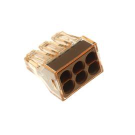 Wago svorka krabicová hnědá 400V/41A WAGO 773-606