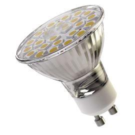 LED žárovka 4W/130° teplá bílá 24xSMD 5050 GU10/230V Emos Z72420