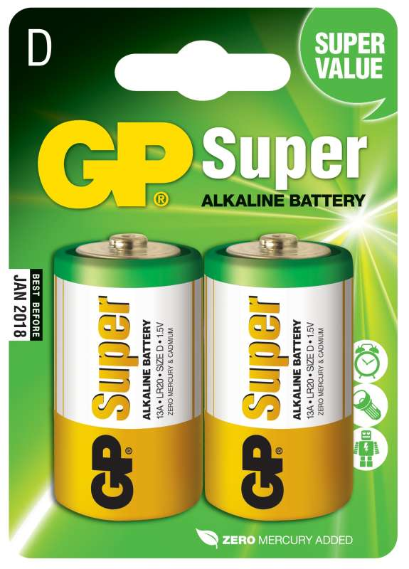 GP SuperAlkaline D 2ks 1013402000