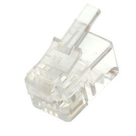 Konektor RJ14 na kabel 4-4 WS 4-4