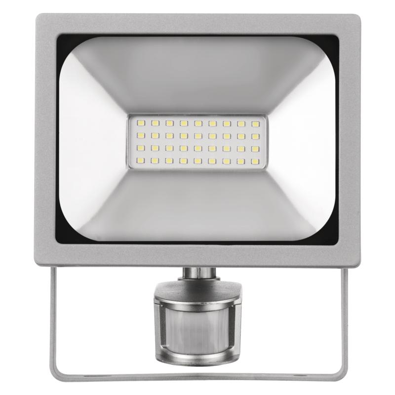 EMOS Lighting LED reflektor PROFI s PIR, 20W neutrální bílá ZS2720