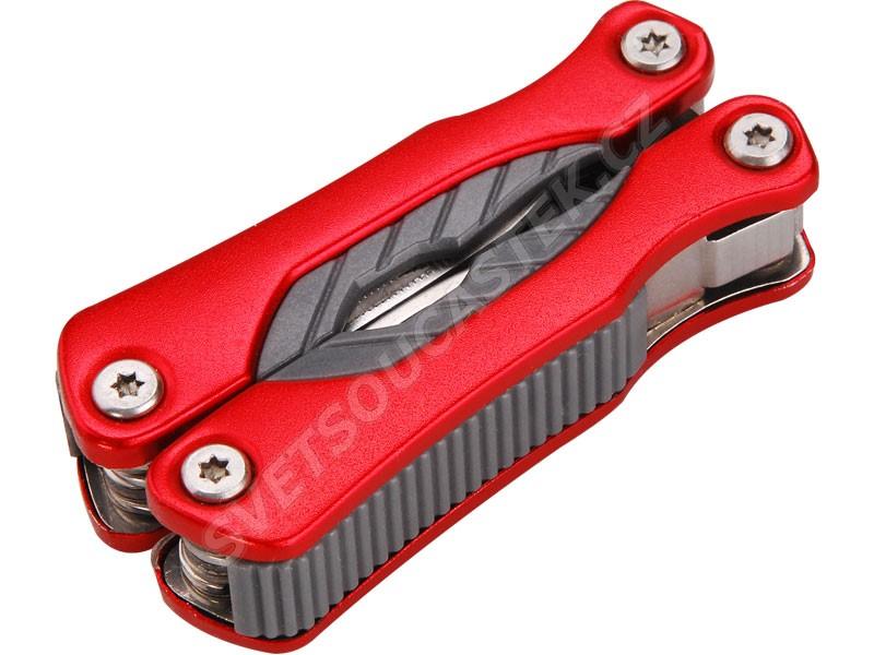 Nůž-kleště kapesní nerez s 9dílný 100/67mm Extol Premium 8855130