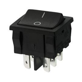 Kolébkový spínač do panelu přepínací 2-pólový ON-ON 6A/250V AC Bulgin H8660VBAAR