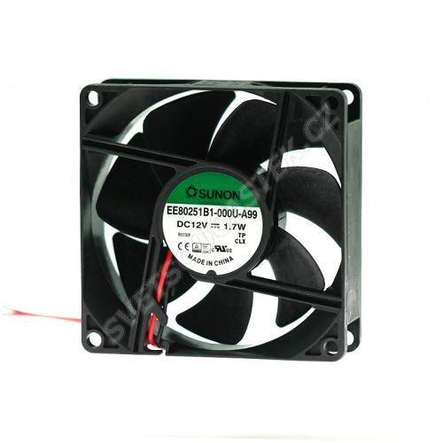 Ventilátor 80x80x25mm 12V DC/145mA 33dB SUNON EE80251B1-000U-A99
