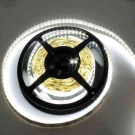 LED pásek studená bílá délka 1 metr, SMD 3528, 120LED/m - nevodotěsný STRF 3528-120-CW