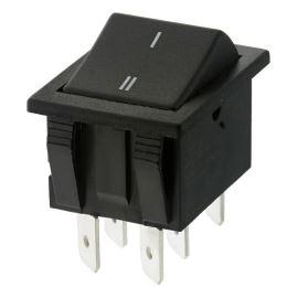 Kolébkový spínač do panelu přepínací 2-pólový ON-ON 16A/250V AC Bulgin C1560ALAAC