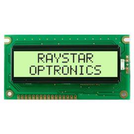 Alfanumerický LCD displej Raystar RC1602A-YHW-ESV