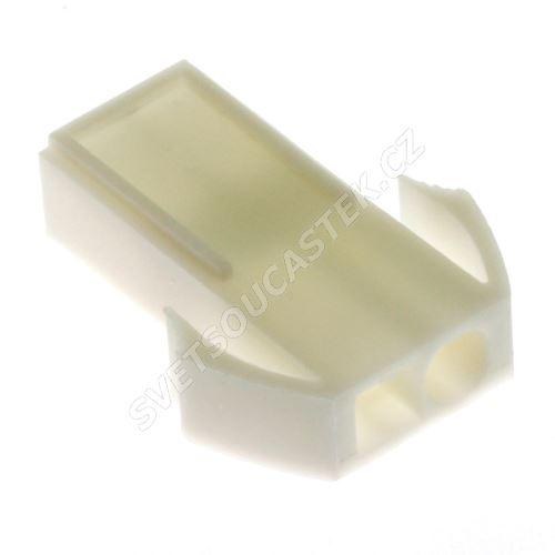 Konektor se zámkem pro 2 piny (1x2) na kabel RM4.5mm Xinya 138-02 M