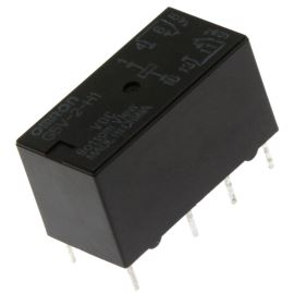 Elektromagnetické relé s DC cívkou do DPS 12VDC 0.5A/125VAC Omron G5V-2-H1 12VDC